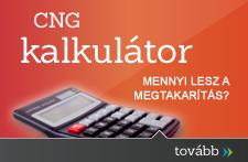 Használja CNG kalkulátorunkat autója fogyasztásának kiszámításához!